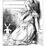 Alice no País das Maravilhas - Alice - J.Tenniel (1865)